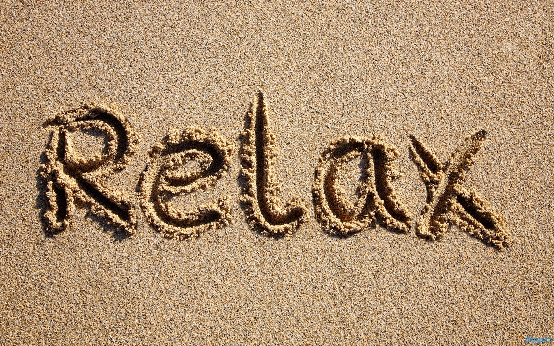 relaxation words list